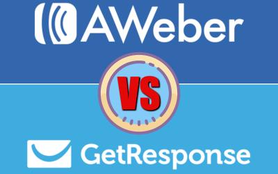 GetResponse vs Aweber 2019